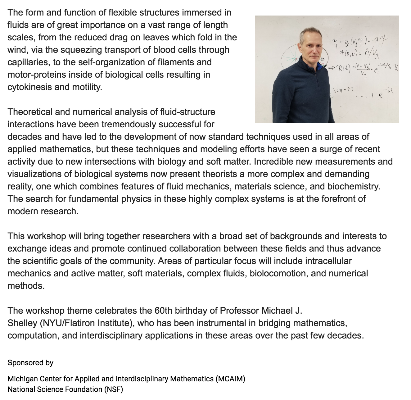 Mathematical Fluids, Materials and Biology (13-15 June 2019